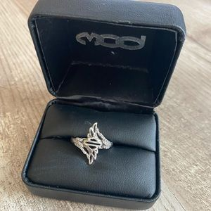 Harley-Davidson .925 Silver Wing Ring Mod Jewelry®